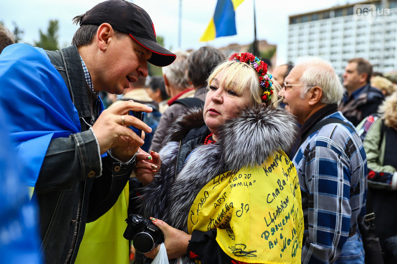Создание штаба сопротивления, выступление кобзаря и героини Майдана: как в Запорожье прошло вече против капитуляции, - ФОТОРЕПОРТАЖ, фото-43