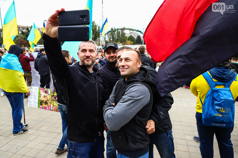 Создание штаба сопротивления, выступление кобзаря и героини Майдана: как в Запорожье прошло вече против капитуляции, - ФОТОРЕПОРТАЖ, фото-44
