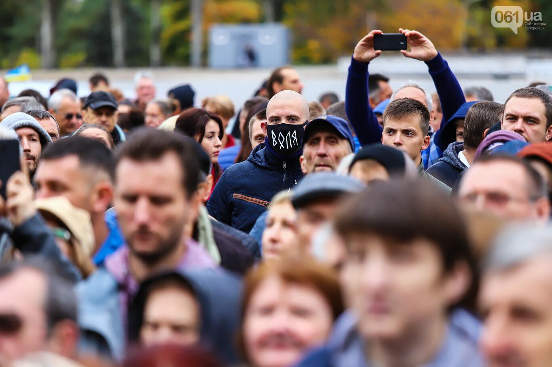 Создание штаба сопротивления, выступление кобзаря и героини Майдана: как в Запорожье прошло вече против капитуляции, - ФОТОРЕПОРТАЖ, фото-26