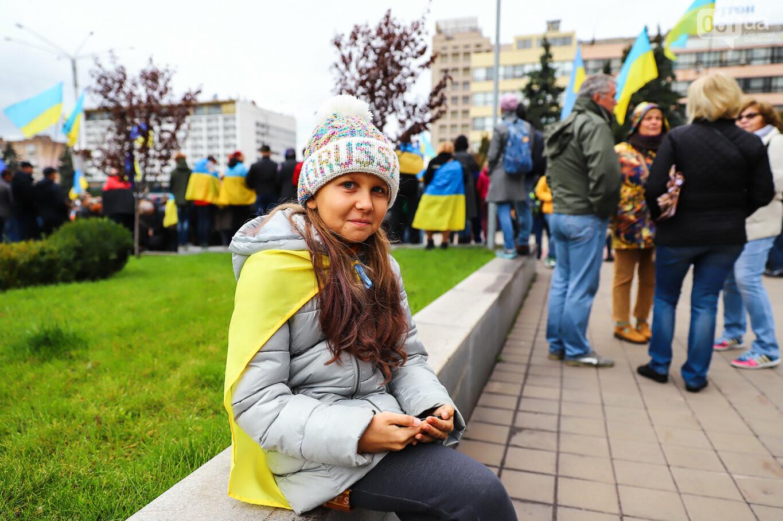 Создание штаба сопротивления, выступление кобзаря и героини Майдана: как в Запорожье прошло вече против капитуляции, - ФОТОРЕПОРТАЖ, фото-45