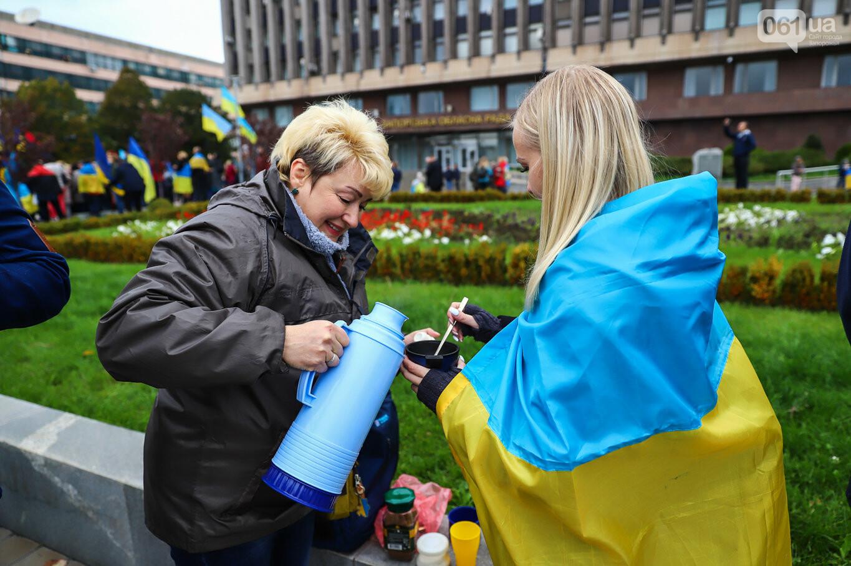 Создание штаба сопротивления, выступление кобзаря и героини Майдана: как в Запорожье прошло вече против капитуляции, - ФОТОРЕПОРТАЖ, фото-46