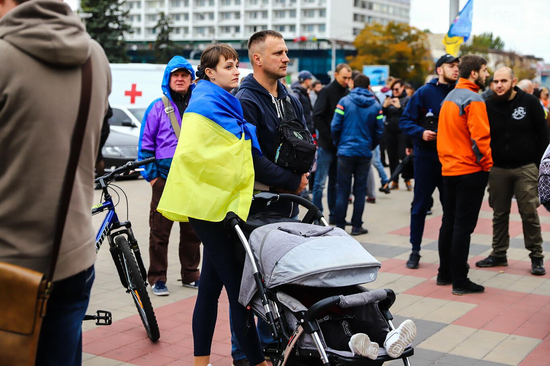 Создание штаба сопротивления, выступление кобзаря и героини Майдана: как в Запорожье прошло вече против капитуляции, - ФОТОРЕПОРТАЖ, фото-47
