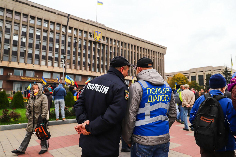 Создание штаба сопротивления, выступление кобзаря и героини Майдана: как в Запорожье прошло вече против капитуляции, - ФОТОРЕПОРТАЖ, фото-54