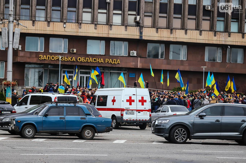 Создание штаба сопротивления, выступление кобзаря и героини Майдана: как в Запорожье прошло вече против капитуляции, - ФОТОРЕПОРТАЖ, фото-57