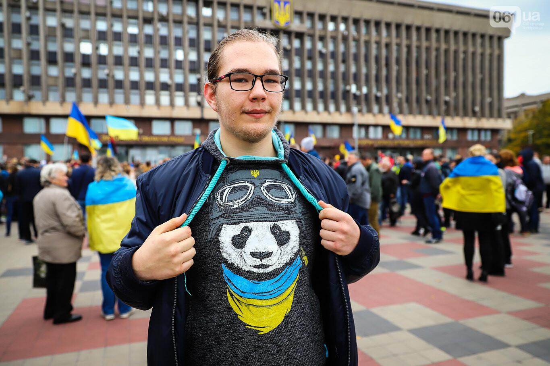 Создание штаба сопротивления, выступление кобзаря и героини Майдана: как в Запорожье прошло вече против капитуляции, - ФОТОРЕПОРТАЖ, фото-48