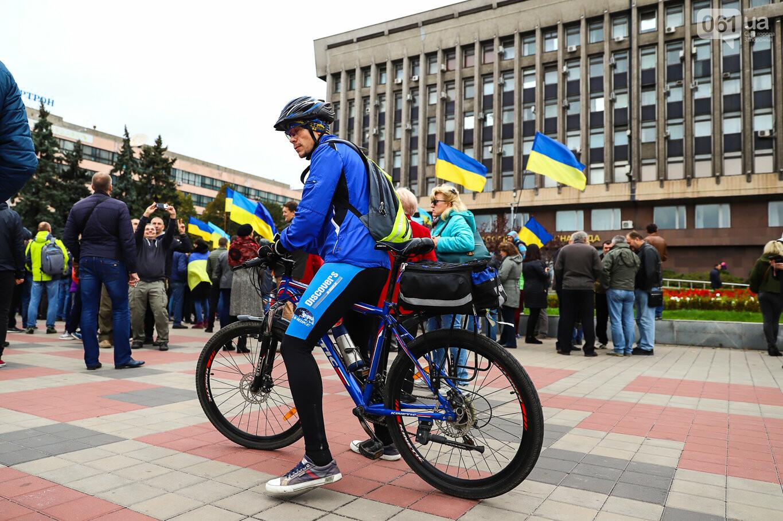 Создание штаба сопротивления, выступление кобзаря и героини Майдана: как в Запорожье прошло вече против капитуляции, - ФОТОРЕПОРТАЖ, фото-49