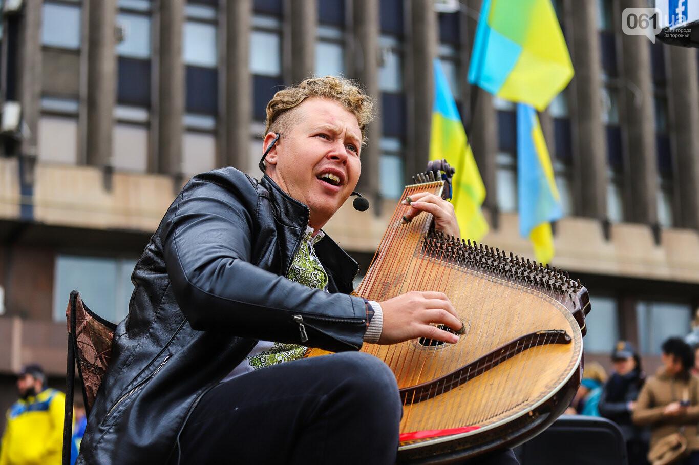 Создание штаба сопротивления, выступление кобзаря и героини Майдана: как в Запорожье прошло вече против капитуляции, - ФОТОРЕПОРТАЖ, фото-51