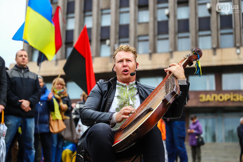 Создание штаба сопротивления, выступление кобзаря и героини Майдана: как в Запорожье прошло вече против капитуляции, - ФОТОРЕПОРТАЖ, фото-53