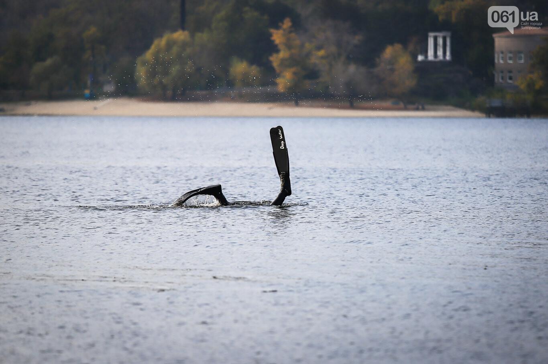 Чистка Днепра: запорожские дайверы провели субботник, - ФОТОРЕПОРТАЖ, фото-3