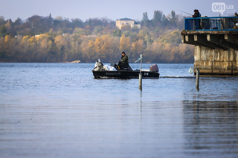 Чистка Днепра: запорожские дайверы провели субботник, - ФОТОРЕПОРТАЖ, фото-6