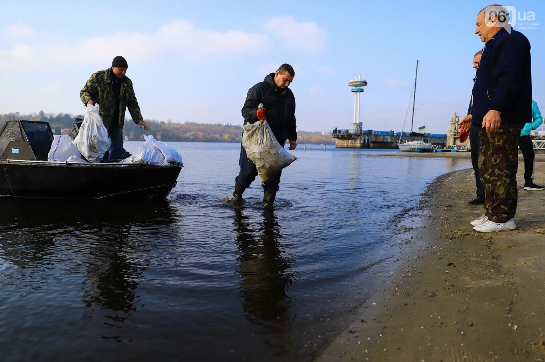 Чистка Днепра: запорожские дайверы провели субботник, - ФОТОРЕПОРТАЖ, фото-10