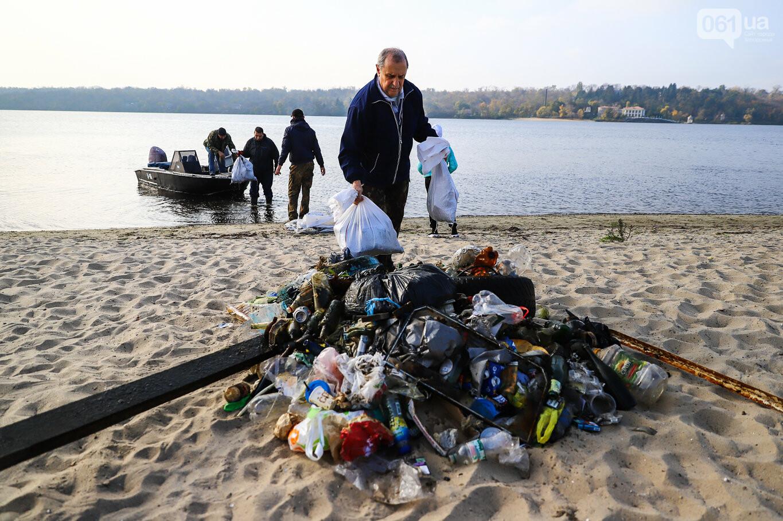 Чистка Днепра: запорожские дайверы провели субботник, - ФОТОРЕПОРТАЖ, фото-12