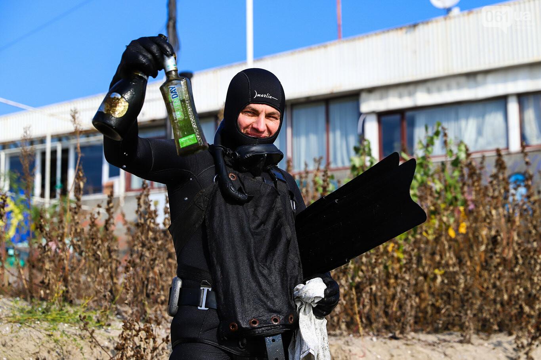 Чистка Днепра: запорожские дайверы провели субботник, - ФОТОРЕПОРТАЖ, фото-30