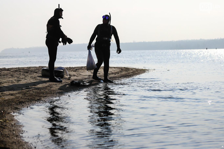 Чистка Днепра: запорожские дайверы провели субботник, - ФОТОРЕПОРТАЖ, фото-34