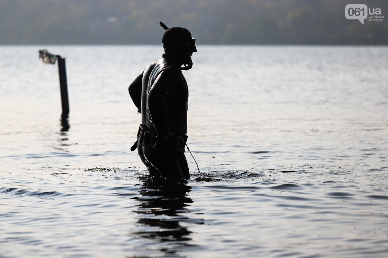 Чистка Днепра: запорожские дайверы провели субботник, - ФОТОРЕПОРТАЖ, фото-35