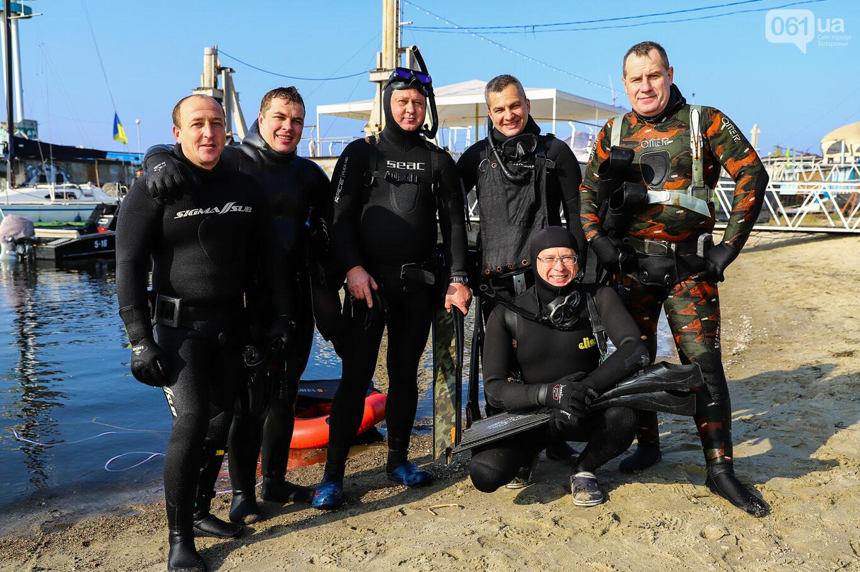 Чистка Днепра: запорожские дайверы провели субботник, - ФОТОРЕПОРТАЖ, фото-37