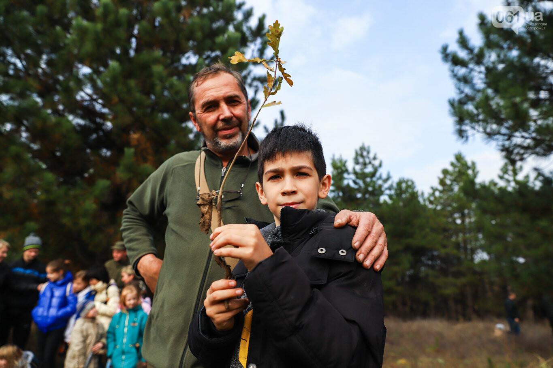 """""""Новая жизнь Хортицы"""" : на заповедном острове высадили 200 дубов и сосен, - ФОТОРЕПОРТАЖ, фото-26"""