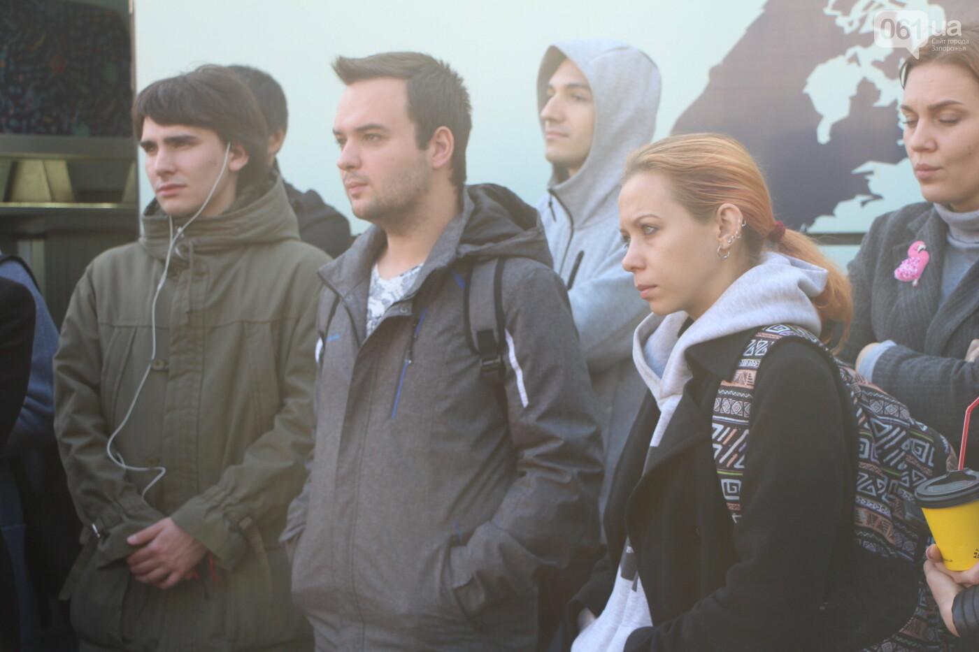 """""""Анисимов просто лох"""": на антикоррупционной экскурсии рассказали, кто приезжает в новый """"золотой офис"""", - ФОТОРЕПОРТАЖ, фото-8"""