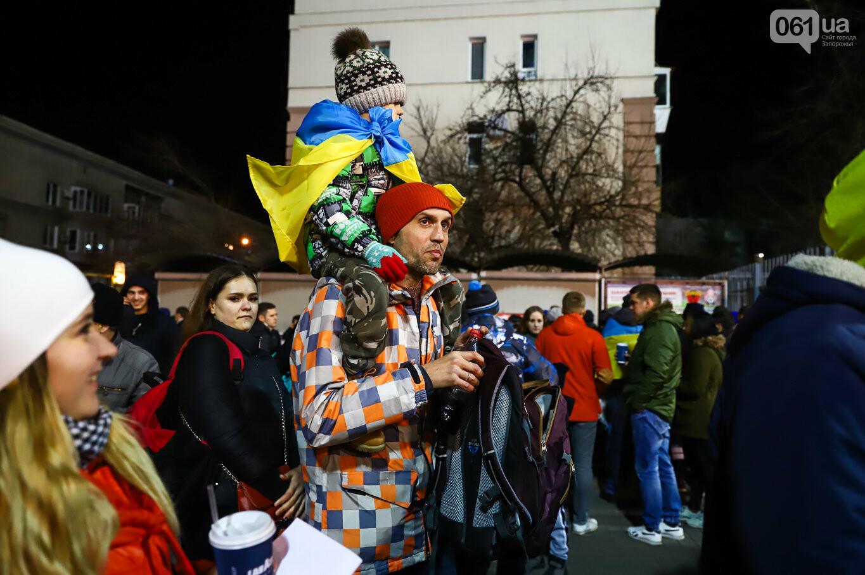 Сине-желтые трибуны, гимн с Гайтаной и перфомансы от фанатов: как в Запорожье впервые прошел матч сборной Украины, - ФОТОРЕПОРТАЖ, фото-13