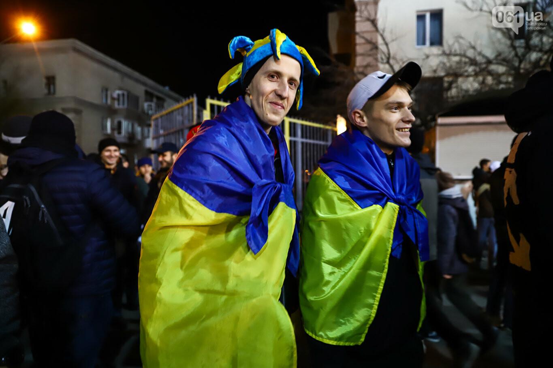 Сине-желтые трибуны, гимн с Гайтаной и перфомансы от фанатов: как в Запорожье впервые прошел матч сборной Украины, - ФОТОРЕПОРТАЖ, фото-14