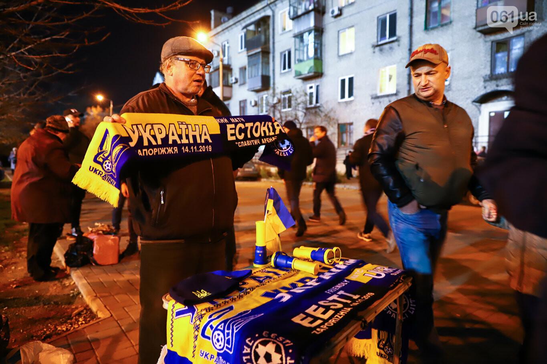 Сине-желтые трибуны, гимн с Гайтаной и перфомансы от фанатов: как в Запорожье впервые прошел матч сборной Украины, - ФОТОРЕПОРТАЖ, фото-15