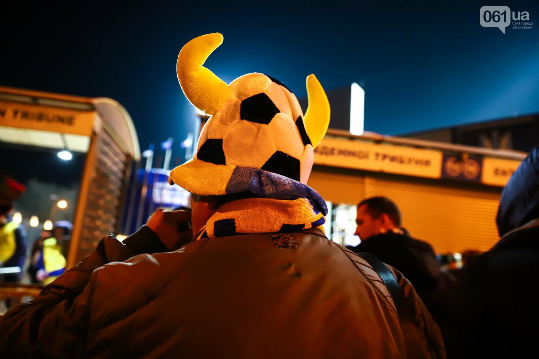 Сине-желтые трибуны, гимн с Гайтаной и перфомансы от фанатов: как в Запорожье впервые прошел матч сборной Украины, - ФОТОРЕПОРТАЖ, фото-16