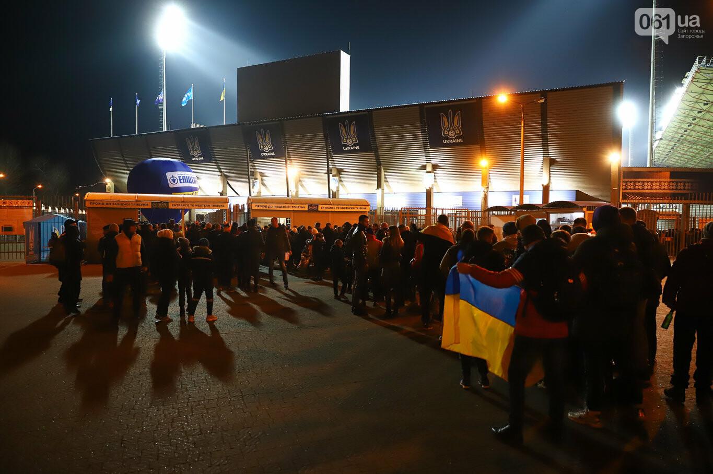 Сине-желтые трибуны, гимн с Гайтаной и перфомансы от фанатов: как в Запорожье впервые прошел матч сборной Украины, - ФОТОРЕПОРТАЖ, фото-17