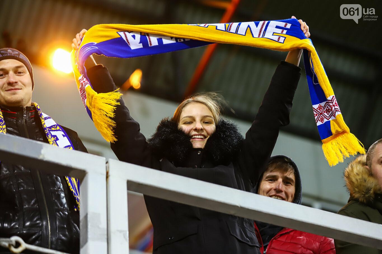 Сине-желтые трибуны, гимн с Гайтаной и перфомансы от фанатов: как в Запорожье впервые прошел матч сборной Украины, - ФОТОРЕПОРТАЖ, фото-22