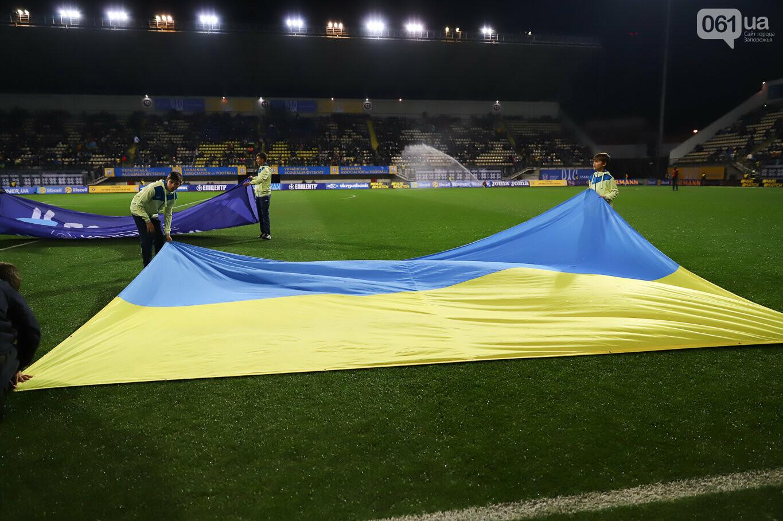 Сине-желтые трибуны, гимн с Гайтаной и перфомансы от фанатов: как в Запорожье впервые прошел матч сборной Украины, - ФОТОРЕПОРТАЖ, фото-25