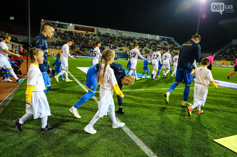 Сине-желтые трибуны, гимн с Гайтаной и перфомансы от фанатов: как в Запорожье впервые прошел матч сборной Украины, - ФОТОРЕПОРТАЖ, фото-29