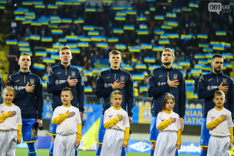 Сине-желтые трибуны, гимн с Гайтаной и перфомансы от фанатов: как в Запорожье впервые прошел матч сборной Украины, - ФОТОРЕПОРТАЖ, фото-3