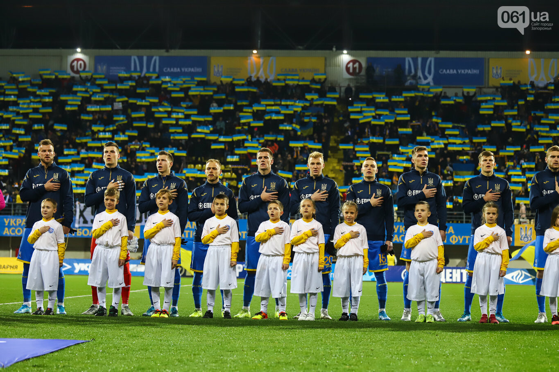 Сине-желтые трибуны, гимн с Гайтаной и перфомансы от фанатов: как в Запорожье впервые прошел матч сборной Украины, - ФОТОРЕПОРТАЖ, фото-31