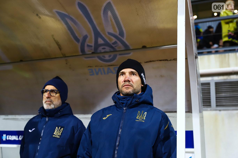 Сине-желтые трибуны, гимн с Гайтаной и перфомансы от фанатов: как в Запорожье впервые прошел матч сборной Украины, - ФОТОРЕПОРТАЖ, фото-33