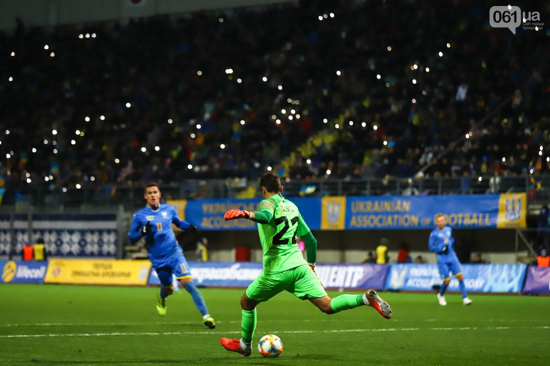 Сине-желтые трибуны, гимн с Гайтаной и перфомансы от фанатов: как в Запорожье впервые прошел матч сборной Украины, - ФОТОРЕПОРТАЖ, фото-52