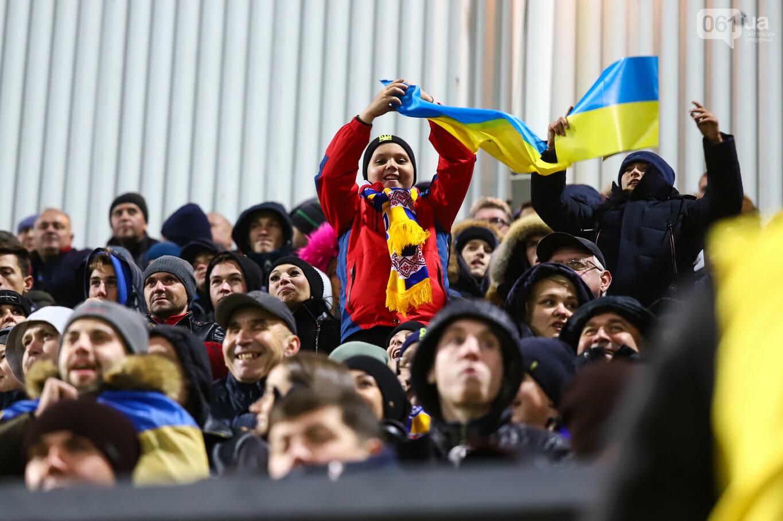 Сине-желтые трибуны, гимн с Гайтаной и перфомансы от фанатов: как в Запорожье впервые прошел матч сборной Украины, - ФОТОРЕПОРТАЖ, фото-58