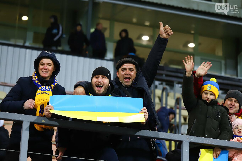 Сине-желтые трибуны, гимн с Гайтаной и перфомансы от фанатов: как в Запорожье впервые прошел матч сборной Украины, - ФОТОРЕПОРТАЖ, фото-80