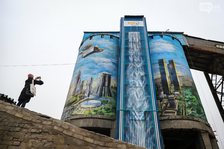 Самый большой мурал Украины создали в Запорожье на территории каменного карьера, - ФОТОРЕПОРТАЖ, фото-4