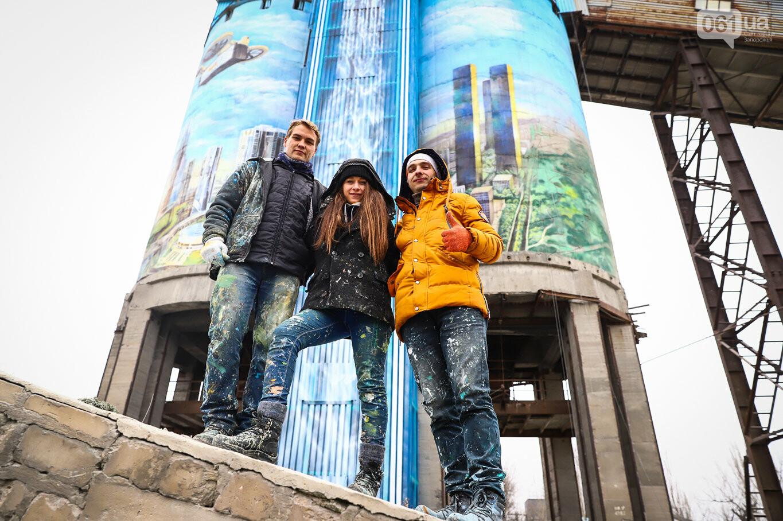 Самый большой мурал Украины создали в Запорожье на территории каменного карьера, - ФОТОРЕПОРТАЖ, фото-1