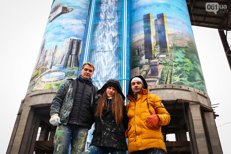Самый большой мурал Украины создали в Запорожье на территории каменного карьера, - ФОТОРЕПОРТАЖ, фото-2