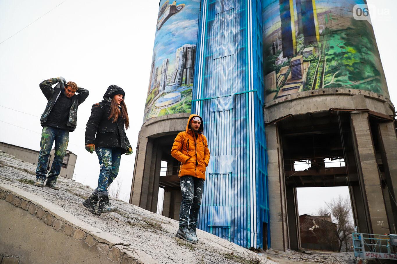 Самый большой мурал Украины создали в Запорожье на территории каменного карьера, - ФОТОРЕПОРТАЖ, фото-3