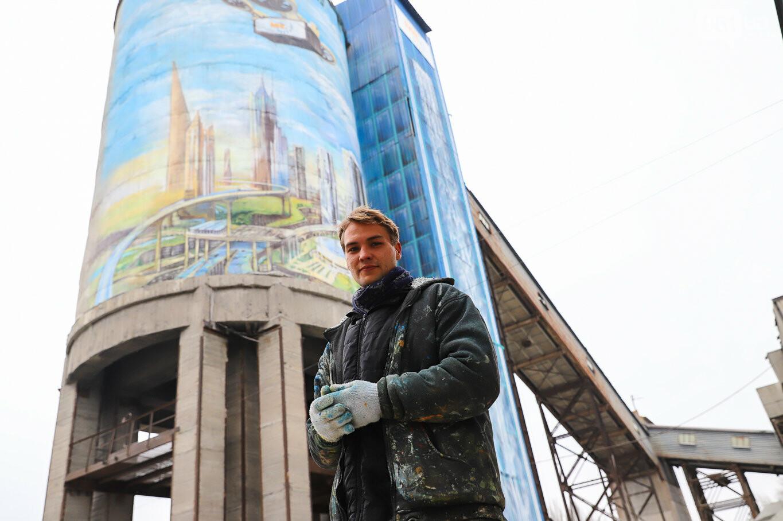 Самый большой мурал Украины создали в Запорожье на территории каменного карьера, - ФОТОРЕПОРТАЖ, фото-10
