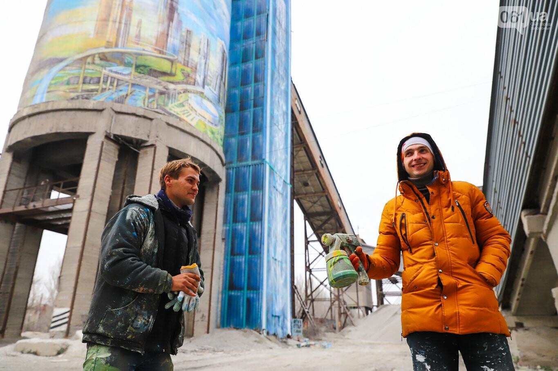 Самый большой мурал Украины создали в Запорожье на территории каменного карьера, - ФОТОРЕПОРТАЖ, фото-11