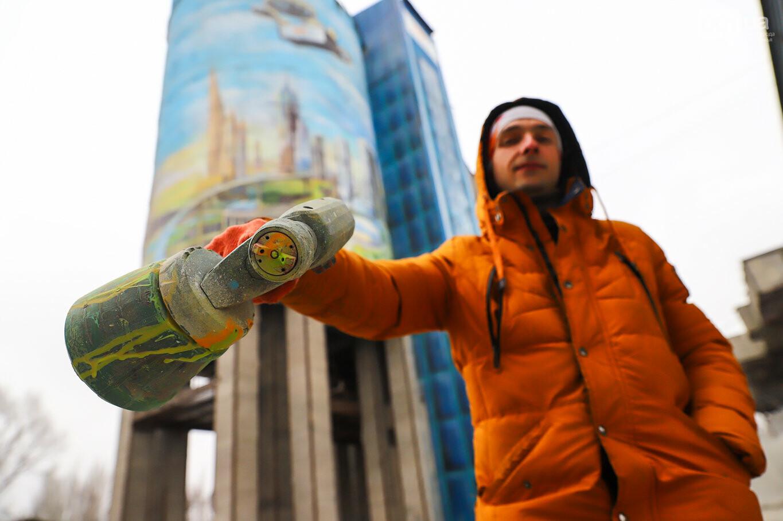 Самый большой мурал Украины создали в Запорожье на территории каменного карьера, - ФОТОРЕПОРТАЖ, фото-12