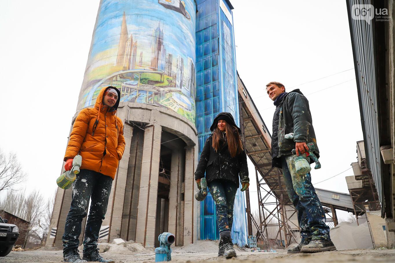 Самый большой мурал Украины создали в Запорожье на территории каменного карьера, - ФОТОРЕПОРТАЖ, фото-18