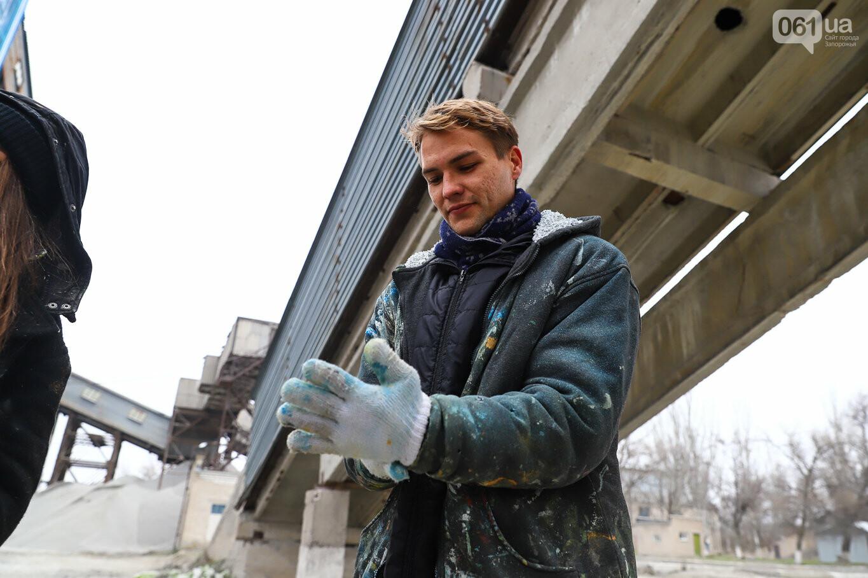 Самый большой мурал Украины создали в Запорожье на территории каменного карьера, - ФОТОРЕПОРТАЖ, фото-20