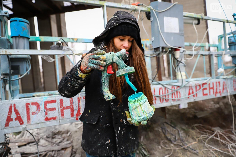 Самый большой мурал Украины создали в Запорожье на территории каменного карьера, - ФОТОРЕПОРТАЖ, фото-22
