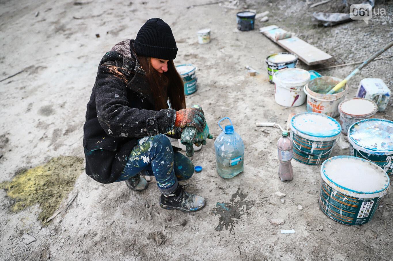 Самый большой мурал Украины создали в Запорожье на территории каменного карьера, - ФОТОРЕПОРТАЖ, фото-25