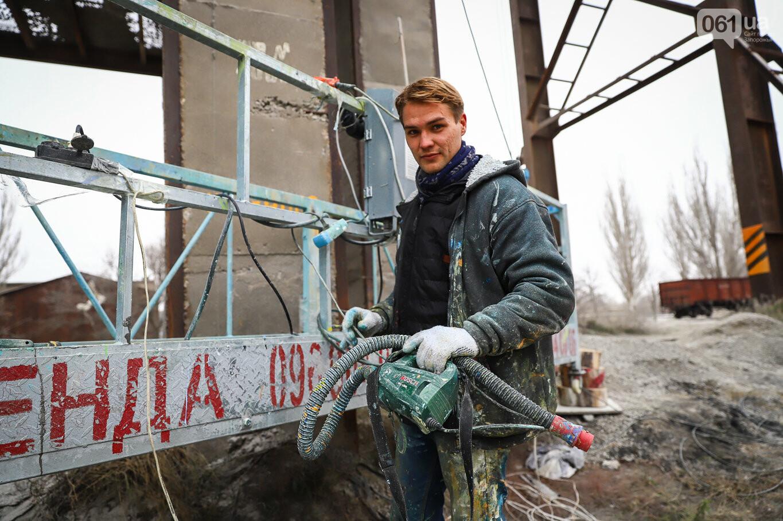Самый большой мурал Украины создали в Запорожье на территории каменного карьера, - ФОТОРЕПОРТАЖ, фото-26