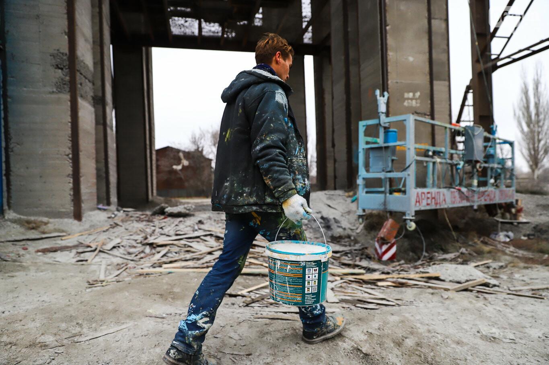 Самый большой мурал Украины создали в Запорожье на территории каменного карьера, - ФОТОРЕПОРТАЖ, фото-27