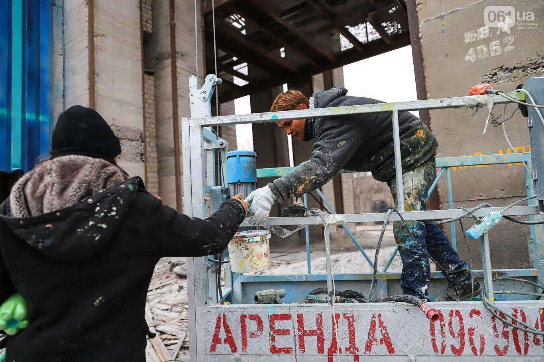 Самый большой мурал Украины создали в Запорожье на территории каменного карьера, - ФОТОРЕПОРТАЖ, фото-29